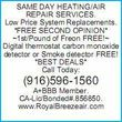 Photo #2: $59 Sameday Air conditioning/heating repair/service call
