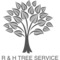 Logo R & H TREE  SERVICE LLC